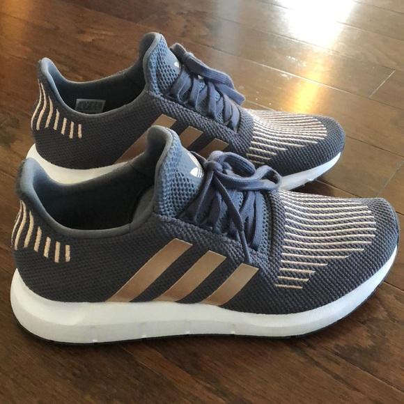 d6ddc5584cfa adidas Shoes - Adidas Swift Run- grey rose gold